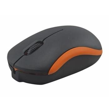 OMEGA myš OM-07, 1000DPI, oranžová