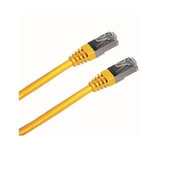 DATACOM Patch cord FTP CAT5E 3m žlutý