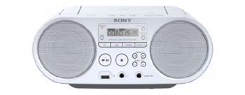 SONY ZS-PS50 Přehrávač CD Boombox - White