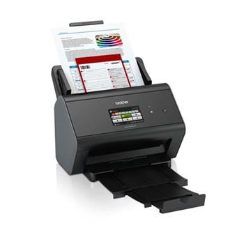 Brother ADS-2800W vysokorychlostní oboustranný skener dokumentů, dotyk. LCD, ethernet, WiFi