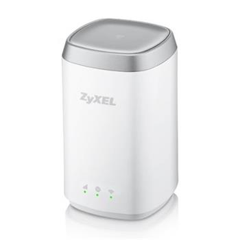 ZyXEL LTE4506, 4G LTE-A 802.11ac WiFi HomeSpot Router, 300Mbps LTE-A, 1GbE LAN, Dual-band WiFi AC1200, Micro USB charge
