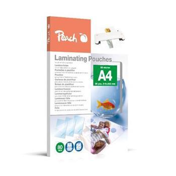 PEACH laminovací folie A4 (216x303mm) Laminating Pouch , 80mic, 25 ks