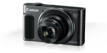 Canon PowerShot SX620HS, Black - 20MP, 25x zoom, 25-625mm, 3,0