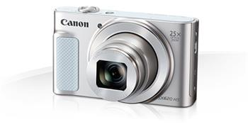 Canon PowerShot SX620HS, White - 20MP, 25x zoom, 25-625mm, 3,0