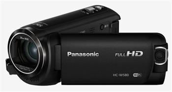 Panasonic HC-W580EP-K, TWIN 1x BSI 2.2Mpx + 2Mpx, 50x zoom 28mm, 5-osý OIS, HDR, WiFi, černá