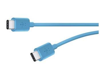Belkin kabel MIXIT USB-C 2.0, 1,8m - modrý
