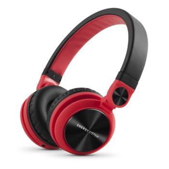 ENERGY DJ2 Red, stylová DJ sluchátka, skládatelná, otočná, odnímatelný kabel, 108 dB,3,5mm