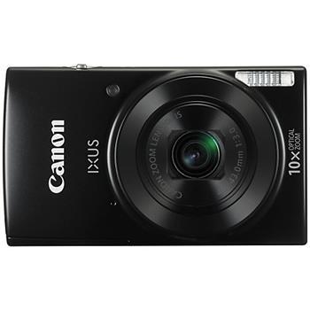 Canon IXUS 182 BLACK - 20MP, 10x zoom, 24-240mm, 2,7