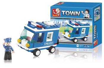 Sluban M38-B0177 - Police Series - Police Van
