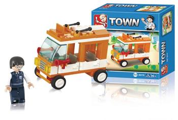 Sluban M38-B0179 - Town Series - Mini Bus