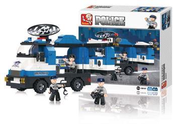 Sluban M38-B0187 - Police Series - Mobile Police Post