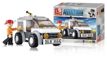 Sluban M38-B0359 - Aviation Series - Delivery Van