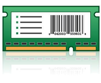 CS72x/CX725 2GB x32 DDR3 RAM
