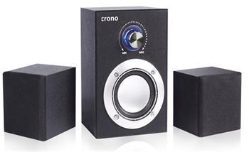Crono CS-2106C - reproduktory 2.1, 16 W, černá