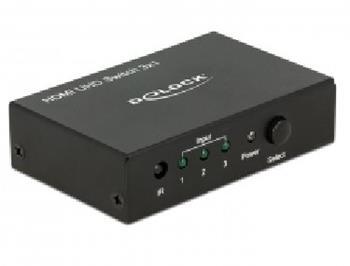 Delock HDMI UHD Switch 3 x HDMI in >1 x HDMI out 4K 18683 Delock HDMI UHD Switch 3 x HDMI in >1 x HDMI out 4K