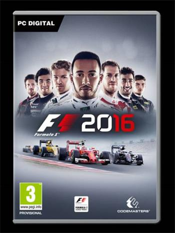 Codemasters PC hra F1 Formula 1 2016