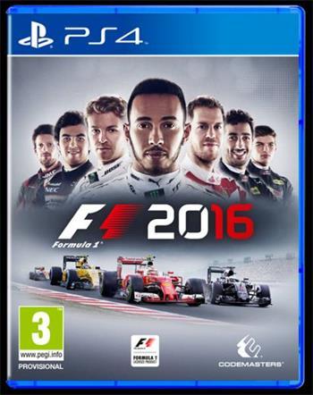 Codemasters PS4 hra F1 Formula 1 2016