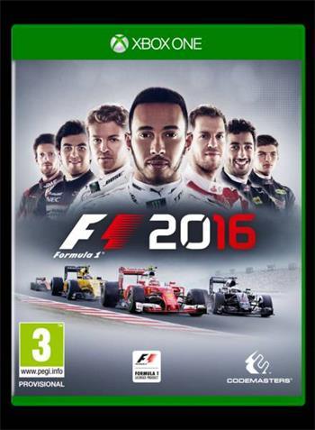 Codemasters XBox One F1 Formula 1 2016