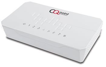 CQpoint CQ-C108 - switch 8 portů, 10/100 RJ45