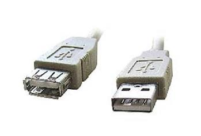 Kabel GEMBIRD C-TECH USB A-A 3m 2.0 prodlužovací HQ Black, zlacené kontakty
