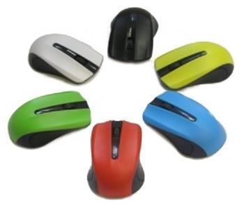 Myš GEMBIRD C-tech MUS-101, červená, USB