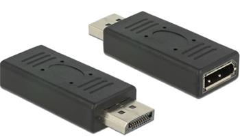 Delock Adaptér Displayport 1.2 male > Displayport samice female šetřič portu