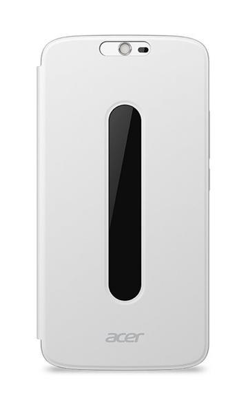 Flip Cover pro telefon Acer Liquid Zest Plus bílý