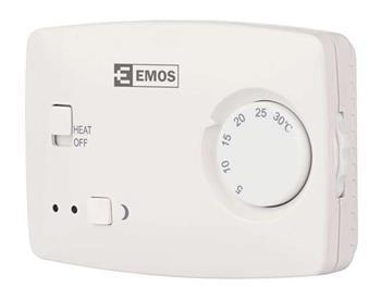 Emos T3 pokojový termostat, manuální