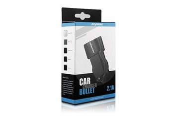 iMyMax Bullet Car Charger 2,1A, Gray