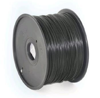 GEMBIRD Tisková struna (filament), ABS, 1,75mm, 1kg, černá