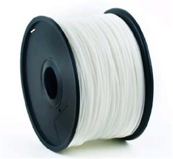 Tisková struna (filament) GEMBIRD, PLA, 1,75mm, 1kg, bílá
