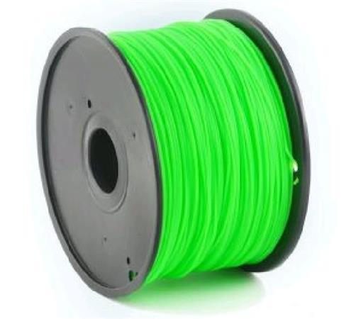 Tisková struna (filament) GEMBIRD, PLA, 1,75mm, 1kg, zelená