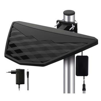 Emos anténa EM-DIO2 - DVB-T2/T anténa pokojová/venkovní, aktivní, LTE filtr,