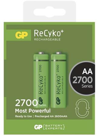 GP AA ReCyko+ 2700 series, nabíjecí, 2 ks