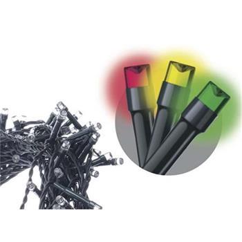 Emos LED dekorační řetěz 240 LED TIMER 24m IP44 MC, multicolor