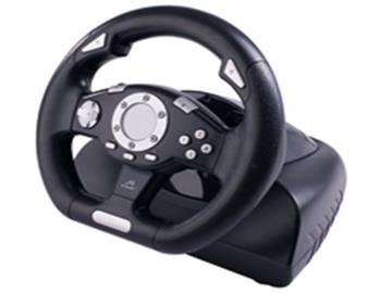 GEMBIRD Steering Wheel TRACER Sierra PC + GAME