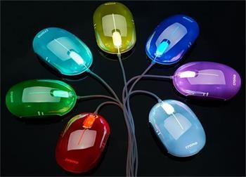Crono CM646- optická myš, 7 variant barevného podsvícení, USB