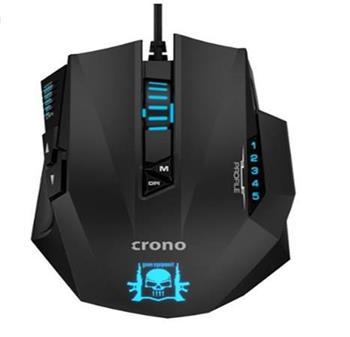Crono CM648 - optická herní myš, USB konektor, rozlišení až 4000 DPI