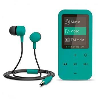 ENERGY MP4 Touch Mint (8GB, MicroSD, FM, sluchátka)