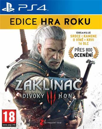 CD Projekt PS4 hra The Witcher 3: The Wild Hunt GOTY