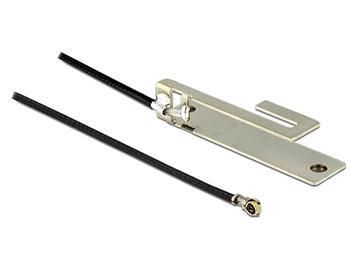 Delock WLAN Antenna MHF IV/ HSC MXHP32 802.11 b/g/n PIFA 3 dBi 250 mm internal