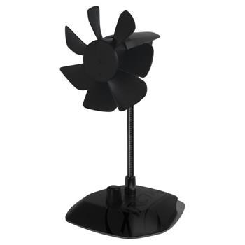 Arctic Breeze Color Edition BLACK - USB stolní ventilátor, černý