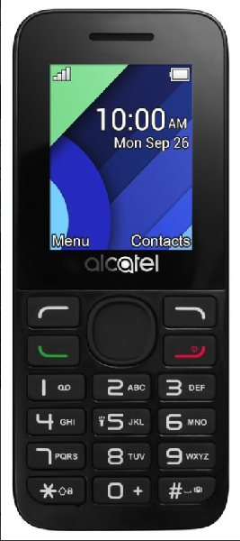 ALCATEL 1054D Charcoal Grey
