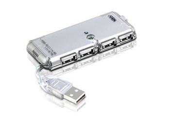 ATEN UH275Z-AT-G 4 PORT USB 2.0 HUB. W/230V ADP