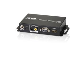 ATEN VC812-AT-G HDMI TO VGA CONVERTER W/SCALER W/EU ADP