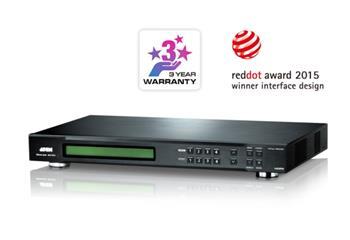 ATEN VM5404H-AT-G 4x4 HDMI Matrix Switch W/Scaler W/EU POW ER CORD