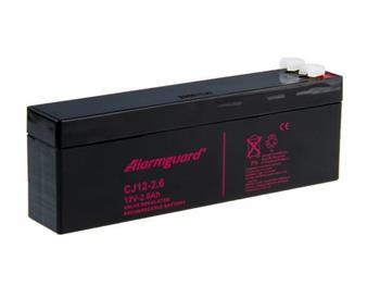 Alarmguard 12V 2,6Ah olověný akumulátor F1