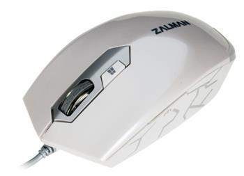 Zalman optická myš ZM-M130C - 2400DPI, white, USB
