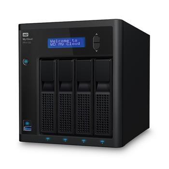 """WD My CLOUD PR 4100, 8 TB (4x2TB) 3,5"""", RJ45, NAS"""