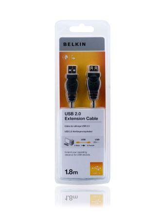 Belkin kabel USB 2.0 prodlužovací řada standard, 1,8m